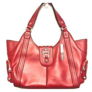 {ETIENNE AIGNER} genuine leather purse.🎒🧣🍄❤️